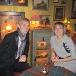 Восточное Сараево. Андрей Дубов и Елена Тарасова после концертов.