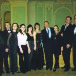 Maya Plisetskaya and Rodion Shchedrin, professors S. Dorensky, R. Bagdasarian, A. Sokolov, students