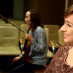 Анна Янчишина и Елена Тарасова на репетиции в центре Yamaha