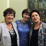 С первыми педагогами О.Е. Мечетиной и Т.Н. Голик
