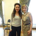 Стефани Д'Устрак в Московской консерватории.