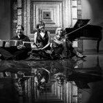 Сергей Суворов, Елена Тарасова, Анна Янчишина после концерта в Зале на Дубининской