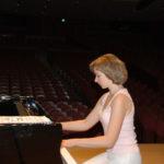 Japan. NHK Concert Hall. Elena Tarasova. Rehearsal