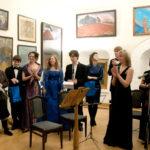 Le concert de classe de professeur M. I. Kravtchenko
