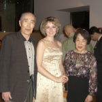 Japan. Morihiko Imai with wife and Elena Tarasova