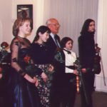 Mikhail Gorbatchev and participants of the concert